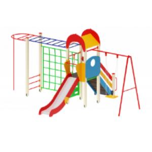 Детский игровой комплекс                           Счастливое детство Горка 1200   6230х4370х3000