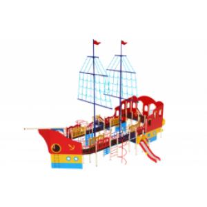 Детский игровой комплекс                          Флагман Горки 1200, 1500, 2000                                           16600х10740х10500