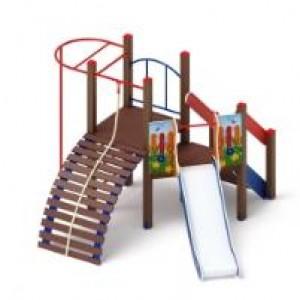 Детский игровой комплекс                          Спорт Горка 900                                           3590х3100х2500