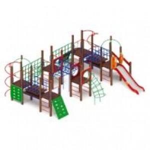 Детский игровой комплекс                          Спорт Горка 1200                                           8370х7120х3200