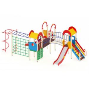 Детский игровой комплекс                           Городок Горка 1200                                           7650х3540х3000