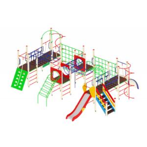 Детский игровой комплекс                           Остров детства Горка 1200                                           11080х9410х3000
