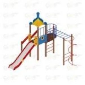 Детский игровой комплекс                           Морской Горка 1500                                           5265*4885*4220