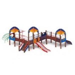 Детский игровой комплекс                           Космопорт Горка 1200                                           7625х6820х4220