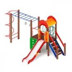 Детский игровой комплекс                       Играйте с нами Горка 1200                                           5800х4920х3000
