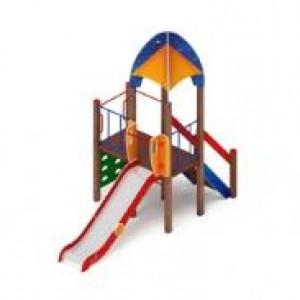 Детский игровой комплекс                           Космопорт Горка 1200                                           4190х1920х3720