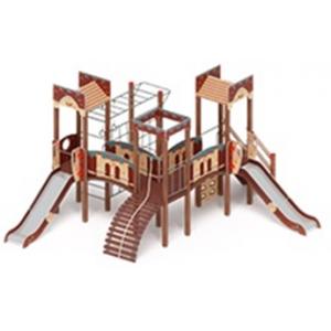 H=1200 Детский игровой комплекс «Замок»  6690*5770*3000