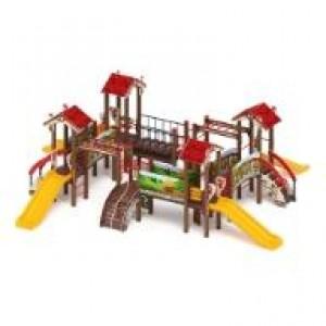 Детский игровой комплекс «В гостях у сказки» 9590х8090х2770