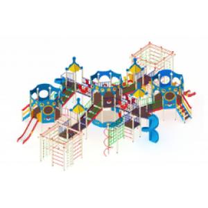 Детский игровой комплекс                           Морской Горки 1200, 2000                                           16500х10900х4700