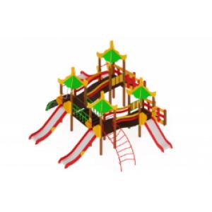 Детский игровой комплекс «Азия» H=900, 1200, 2000 8060*6680*4180