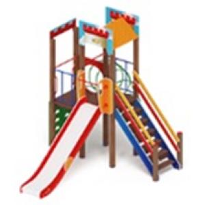 H=1500 Детский игровой комплекс «Замок»  3230х5265х3500