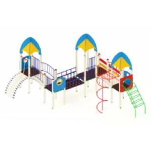 Детский игровой комплекс                           Космопорт Горка 1200                                           7630х6770х3720