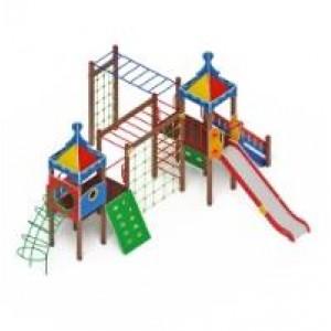 H=1500 Детский игровой комплекс «Волшебный город»                                       7880х6400х4200