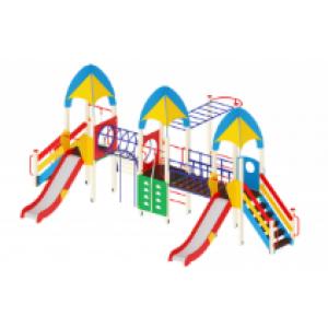 Детский игровой комплекс                           Космопорт Горка 1200                                           8900х5770х3720