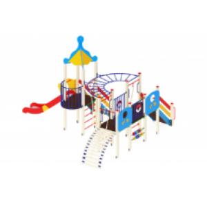 Детский игровой комплекс                          Морской Горка 1500                                           6070*5220*4220