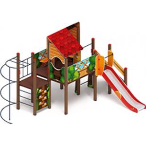 Детский игровой комплекс «Теремок» H=1200   4200х6000х3290