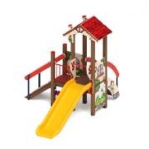 Детский игровой комплекс «В гостях у сказки» 3780*2590*2770