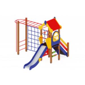 Детский игровой комплекс «Теремок» H=1200 5350*4200*3000