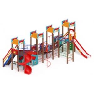H=1500 H=2000 Детский игровой комплекс «Замок»  9970х5670х4500