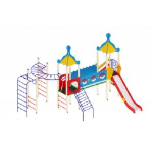 Детский игровой комплекс                           Морской Горка 1500                                           6320*5380*4220