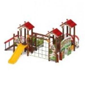 Детский игровой комплекс «В гостях у сказки» 6060*5370*2770