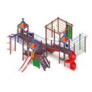 H=2000 H=1200 H=900 Детский игровой комплекс «Волшебный город»                                      11680х9710х4700