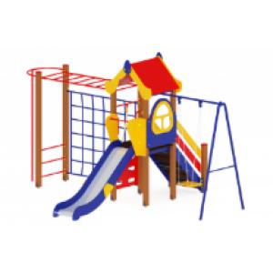 Детский игровой комплекс «Теремок» H=1200 4200*3620*3000