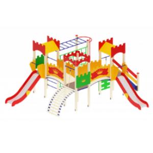 Детский игровой комплекс Замок H=1200 6710*5660*3020
