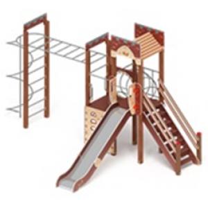 H=1500 Детский игровой комплекс «Замок»  6020х5280х3500