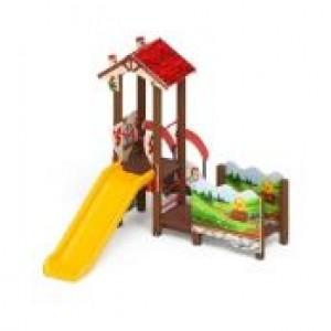 Детский игровой комплекс «В гостях у сказки» 3780*2800*2770