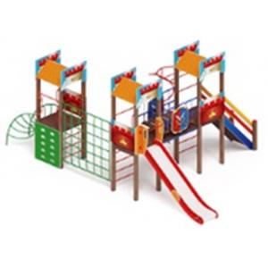 H=1500 Детский игровой комплекс «Замок»  4690х7845х3500