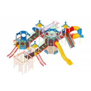 Детский игровой комплекс                           Морской Горки 1200, 2000                                           14000х11373х4700