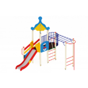 Детский игровой комплекс                           Морской Горка 1500                                           5460*5140*4220