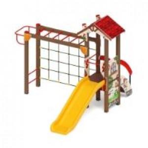 Детский игровой комплекс «В гостях у сказки» 3780*3470*2770