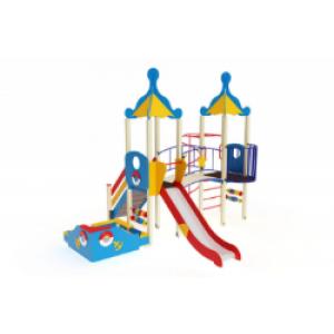 Детский игровой комплекс Морской Горка 1500 5030х4750х4220