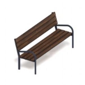 Скамья парковая 1950*695*800