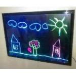 LED панель флуоресцентная для рисования 30*40см