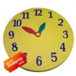 Мат круглый «Часы»