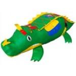Крокодил набивной дидактический