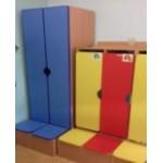 Шкаф для воспитателя с банкеткой