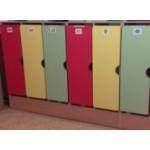 Шкаф для одежды на цоколе 2-секц.