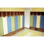 Шкаф для одежды с полкой  вверху  4-секц.