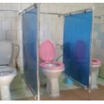 Перегородка в туалет поликарбонат