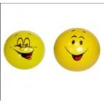 Мяч резиновый детский смайлик