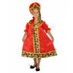 Карнавальный костюм Хохлома девочка