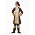 Карнавальный костюм Вельможа фиолет,сирен,борд,