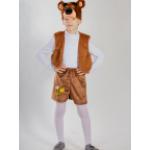 Карнавальный костюм Медвежонок бурый с вышивкой