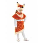 Карнавальный костюм Белка Анджелка, мех