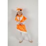 Карнавальный костюм Лиса Алиса, мех