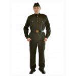 Военный костюм мужской.